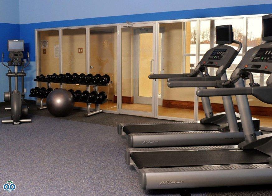 Fitness centre, Sheraton Cambridge