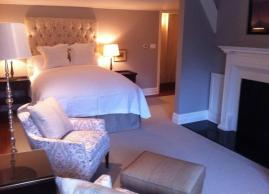 Queen size feather bed, Langdon Hall Country House Hotel & Spa
