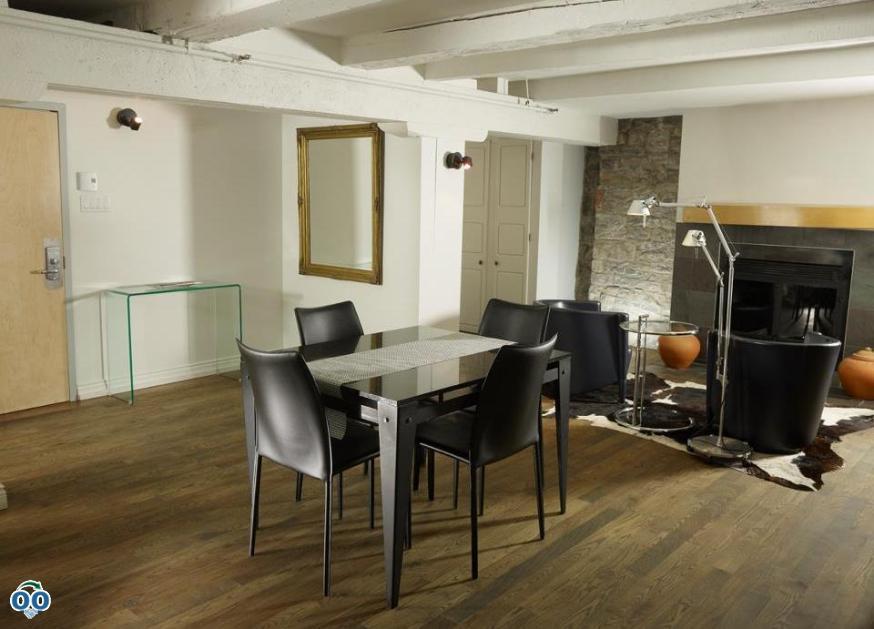 Dining room, Hotel Le Priori