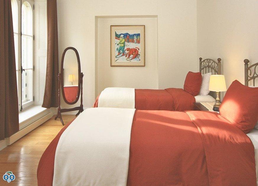 Double queen beds, Royal Dalhousie Condo-Hôtel
