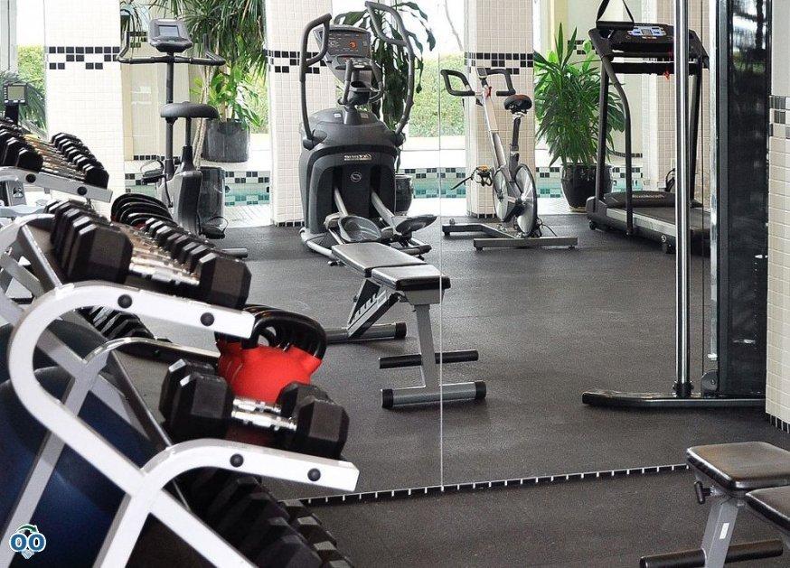 Fitness centre, Hotel Eldorado Kelowna