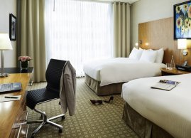 Double bedroom suite, Sofitel Montreal