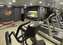 Fitness centre, Sofitel Montreal
