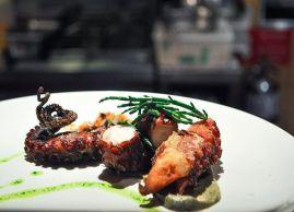 Crisp octopus, Ferreira Café