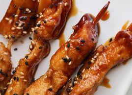 Our chicken kebabs are must!, L'Asie Resto-Bar