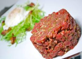 Come and try our tartar, Restaurant L'Academie