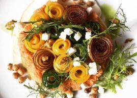 New veggie dish, O'Thym Restaurant