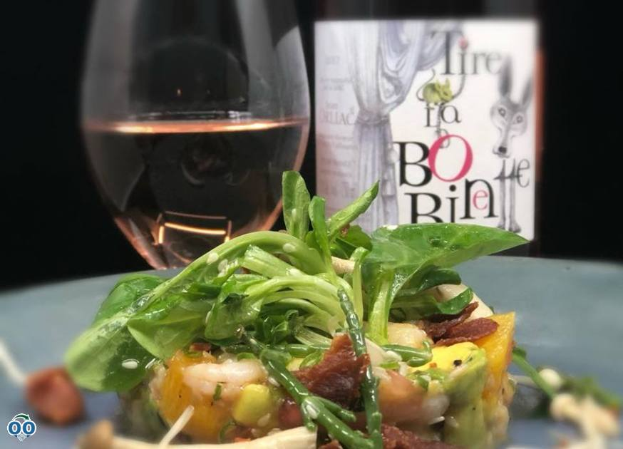 Pull the leaves with the shrimp salad!, Beaufort - Bistro