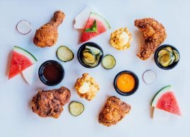 Fresh, local and colorful ingredients, Bird Bar