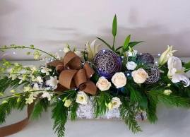 Customise your own Christmas centerpieces!, La Grace des Fleurs