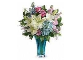 Teleflora's Heart's Pirouette Bouquet, La Grace des Fleurs