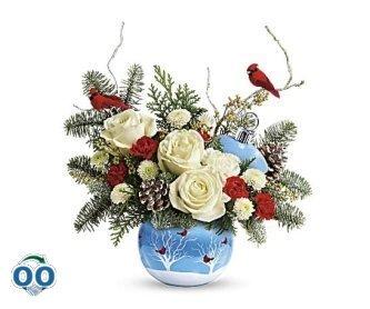 Bouquet Velours Hivernal De Teleflora