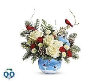 Teleflora's Winter Flock Bouquet
