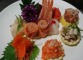 Sashimi, Nomo Restaurant