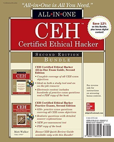 CEH Certified Ethical Hacker Bundle Second Edition