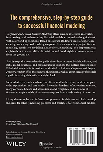 project finance modelling book pdf