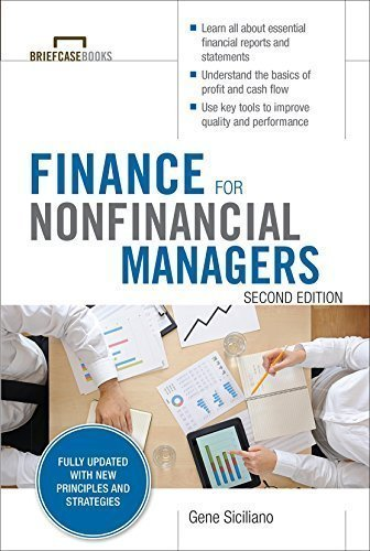 Finance for Nonfinancial Managers Second Edition (Briefcase Books Series)