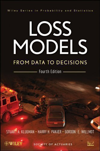 Loss Models: From Data to Decisions Fourth Edition Book + Solutions Manual Set