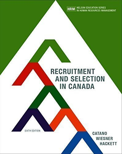 Recruitment and Selection in Canada
