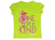 Angry Birds Girls' Short Sleeve Crew Neck T-shirt