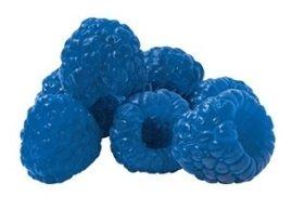 Blue raspberry blast sorbet, Menchie's Frozen Yogurt