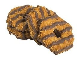 Caramel coconut cookie crunch, Menchie's Frozen Yogurt