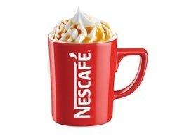 Caramel frappe, Menchie's Frozen Yogurt