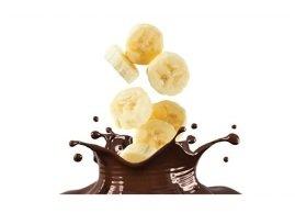 Chocolate dunked banana, Menchie's Frozen Yogurt