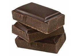 Dark chocolate bar, Menchie's Frozen Yogurt