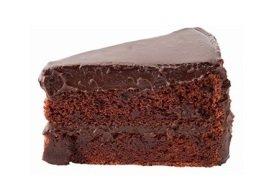 Devils food cake, Menchie's Frozen Yogurt