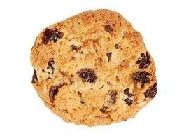 Fresh baked oatmealr aisin cookie, Menchie's Frozen Yogurt
