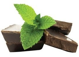 Midnight chocolate mint, Menchie's Frozen Yogurt