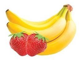 Strawberry banana breeze, Menchie's Frozen Yogurt
