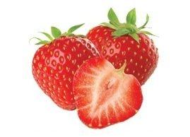 Strawberry, Menchie's Frozen Yogurt