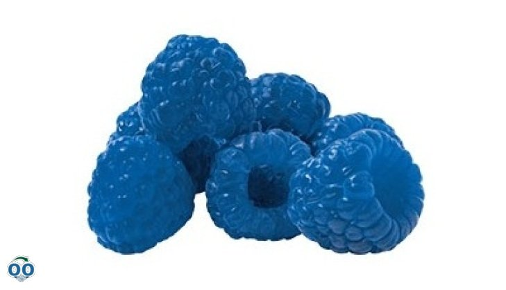 Blue raspberry blast sorbet