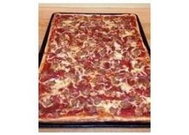 Pepperoni & sausage, Pizza Gourmande