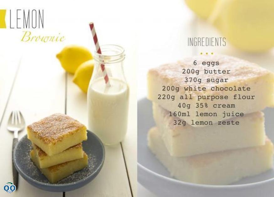 Brownie citron pourblog, Juliette & Chocolat