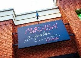 Mikasa sushi outside