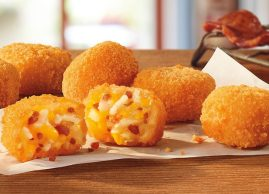 Bacon Cheesy Tots, here for a limited time so get over here quick fast !!