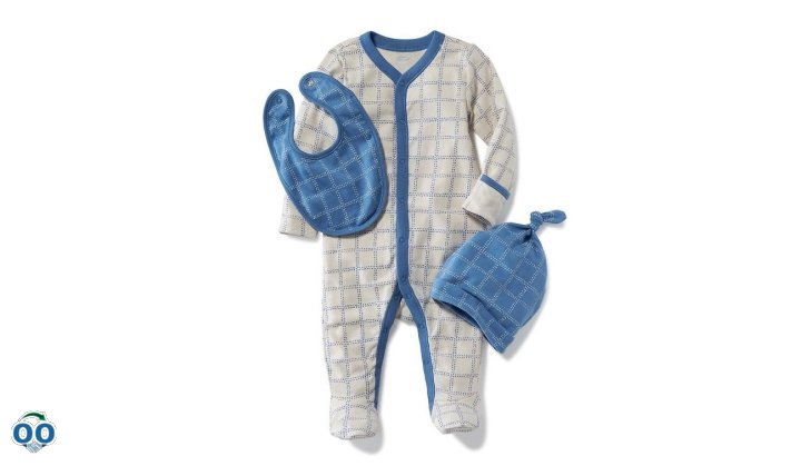 3-Piece layette set for baby