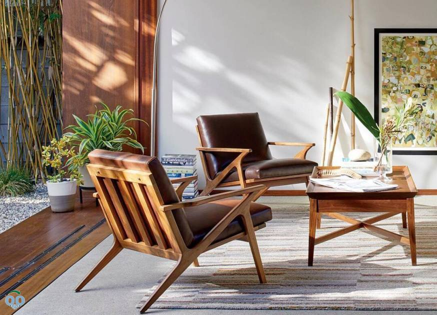 Bring elements of the outdoors in to make room feel like the perfect sunroom