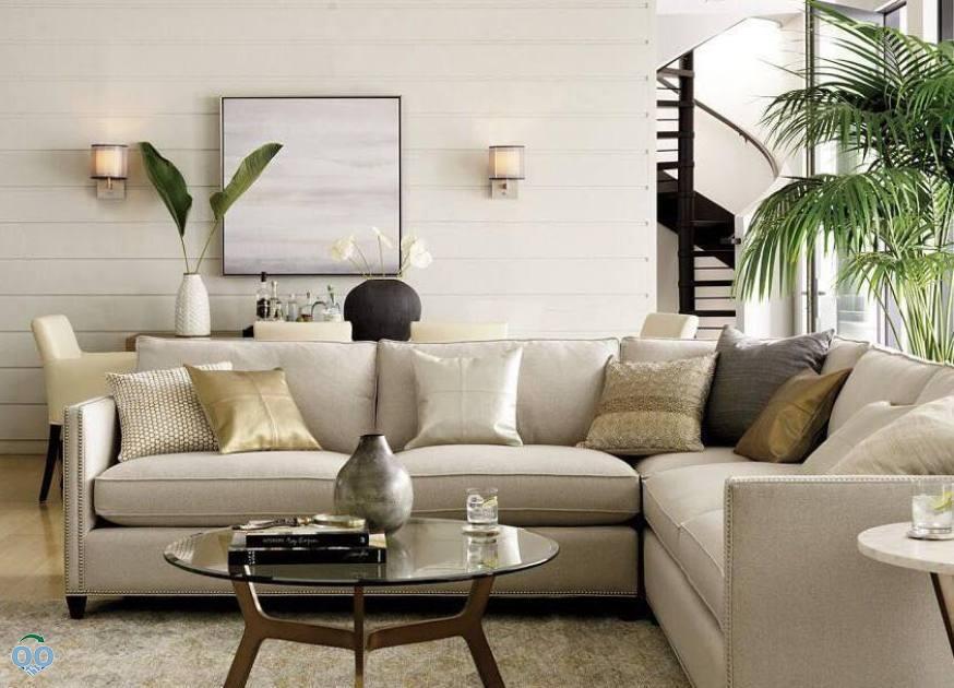 Make your room shine with elegant metallics,modern edge natural textures