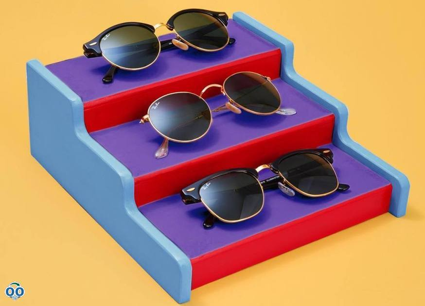 Bring an effortlessly cool style to your wardrobe with a pair of rayban