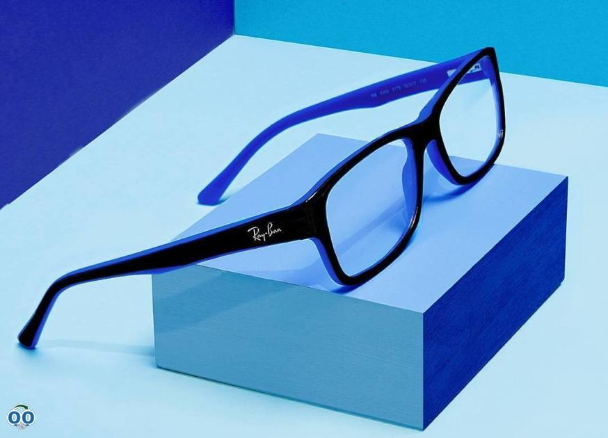 Rayban jr frames bring a fresh flash of color to any kid's school day