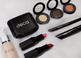 Our exclusive Deca cosmetic line.