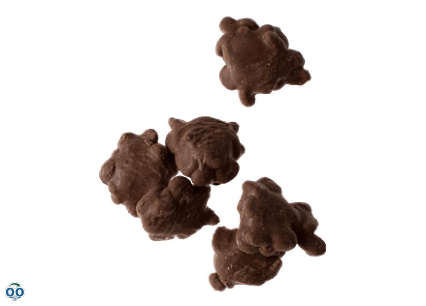 Bouchées de noix au caramel