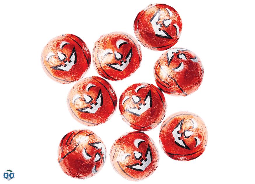 Citrouilles en chocolat