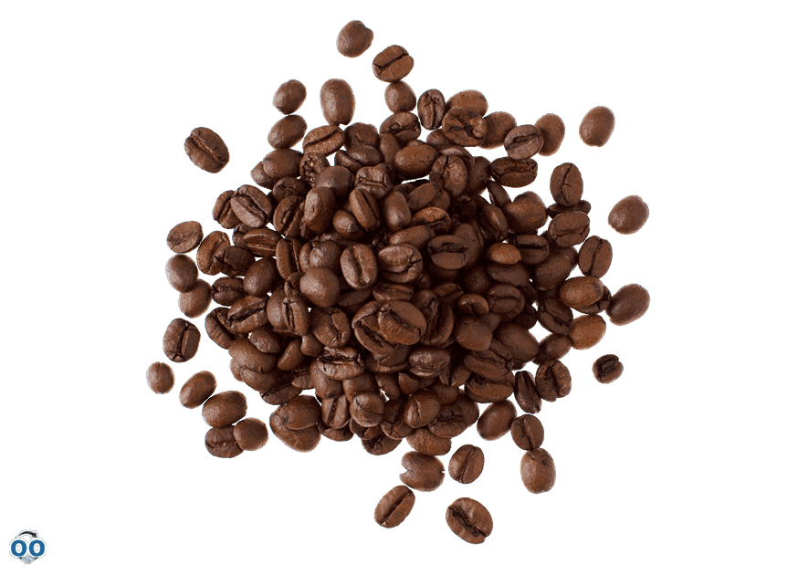 Grains de café aromatisés au gâteau au chocolat allemand