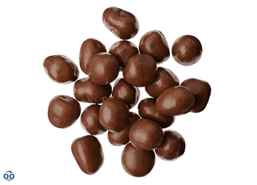 Jujubes enrobés de chocolat