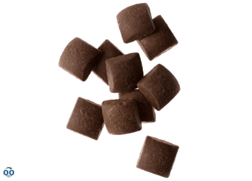 Macarons au chocolat au lait belge